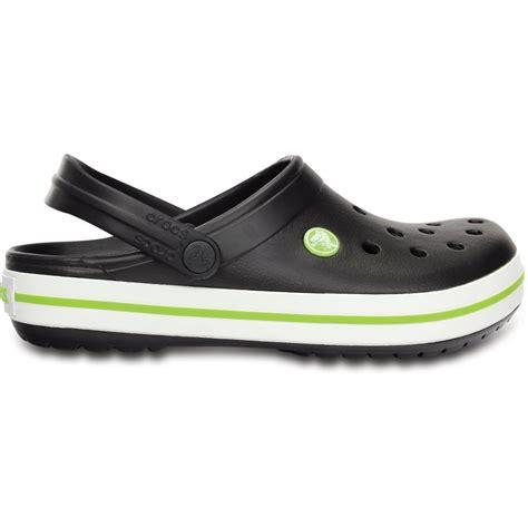 crocs crocband shoe onyx volt green all the comfort of a