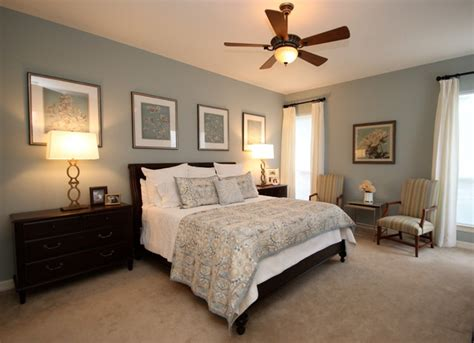 Home Interior Wall Painting Ideas Tranquil Bedroom Traditional Bedroom Austin By