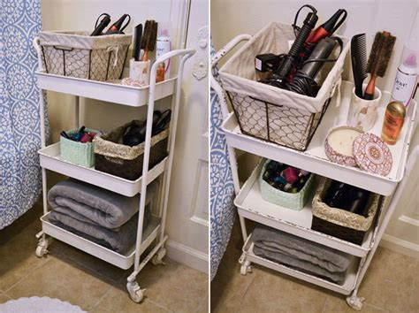 apartment organization how to organize your apartment bathroom via bymandygirl home decorating diy