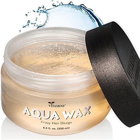 styling gel vs wax aqua hair wax styling gel anti frizz combo size water