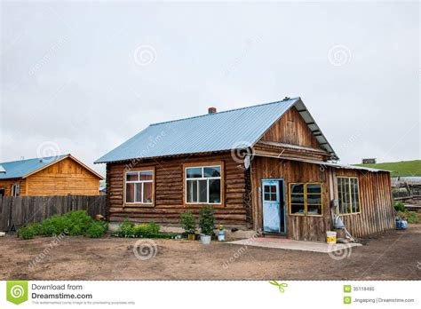 river side farm house and the town of riverside amount ergunaen small farm house chic royalty free stock