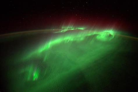 auroras from space pictures back to back sun storms may supercharge earth s northern
