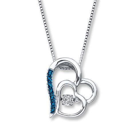 diamonds in rhythm 1 15 ct tw necklace sterling