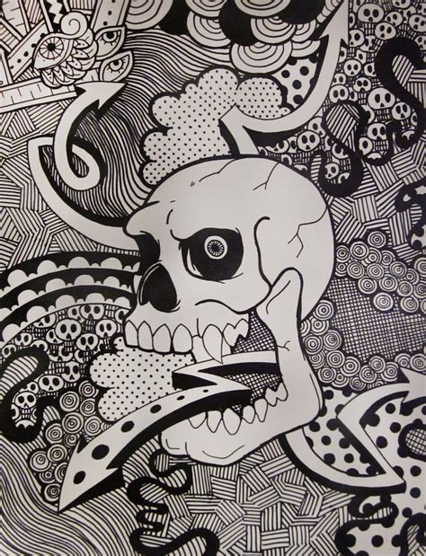 how to do a cool doodle sharpie doodle by mindful madnezz on deviantart