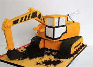 Digger Cake Template by 25 Best Ideas About Excavator Cake On