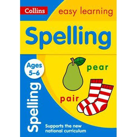 0008134200 collins easy learning age collins easy learning age 5 7 spelling ages 5 6 new