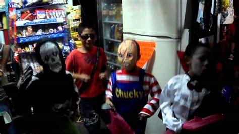 imagenes de halloween niños pidiendo dulces ni 241 os pidiendo halloween en taxco youtube
