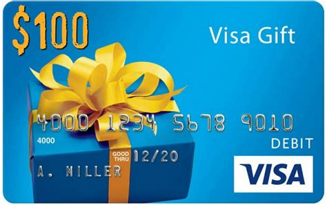 What Is The Name On A Visa Gift Card - 100 visa gift card giveaway whole mom