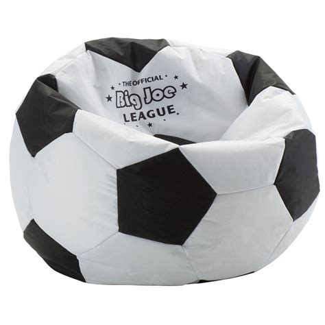 soccer bean bag dreamfurniture big joe soccer bean bag
