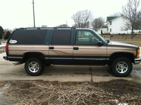 how to work on cars 1999 chevrolet suburban 2500 on board diagnostic system find used 1999 chevy suburban in milford iowa united states