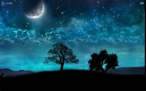 live wallpaper bintang download dream night free 3d live wallpaper free for