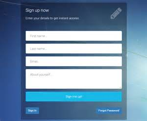 bootstrap form template bootstrap login registration forgot password template