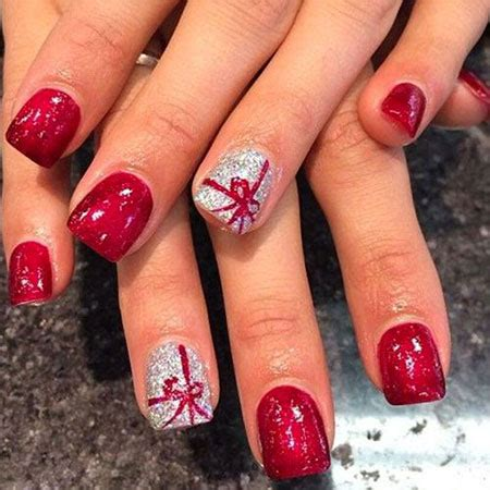 Deco Ongle Noel 2016 by Ongles En Gel 2016 Noel