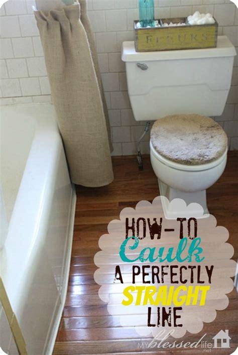 How Bathroom Caulk How To Caulk A Perfectly Line