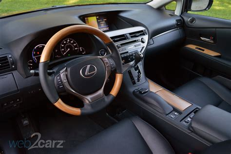 lexus rx interior 2015 2015 lexus rx 450h review web2carz