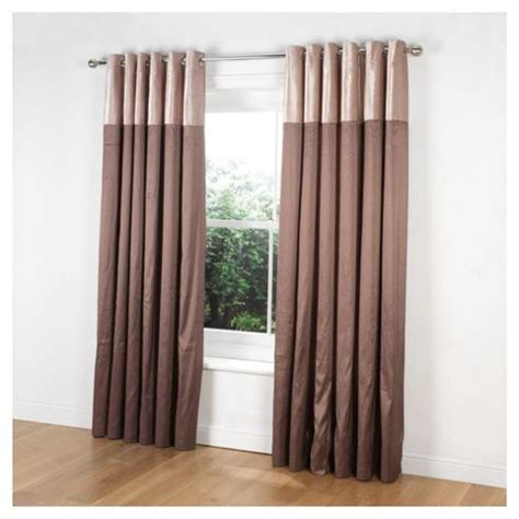tesco eyelet curtains buy tesco velvet taffeta curtains lined eyelet w137xl229cm