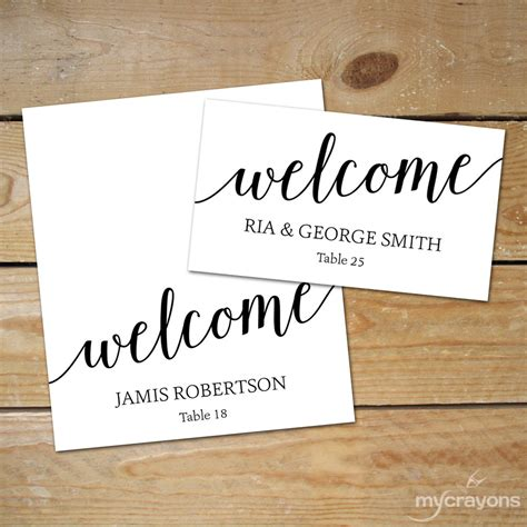 diy place cards editable place card templates diy wedding place cards