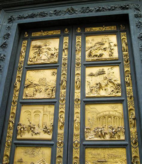 Ghiberti Doors by Lorenzo Ghiberti Baptistry Doors Flickr Photo