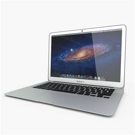 Macbook Air 11 Inch apple macbook air 11 inch 2012 3d model max obj fbx