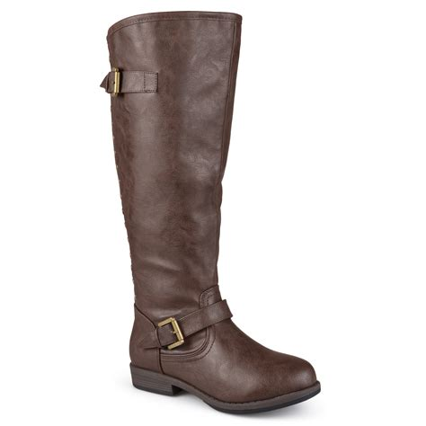 womens wide width boots journee collection s wide and wide calf
