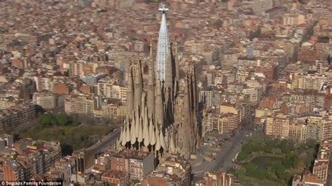 gaudi the complete buildings how gaudi s finished la sagrada familia cathedral will look on completion in 2026 144 years