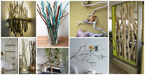 tree branch decorations in the home check these creative tree branches decor ideas that you
