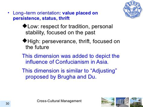 Cross Cultural Management 1 cross cultural management