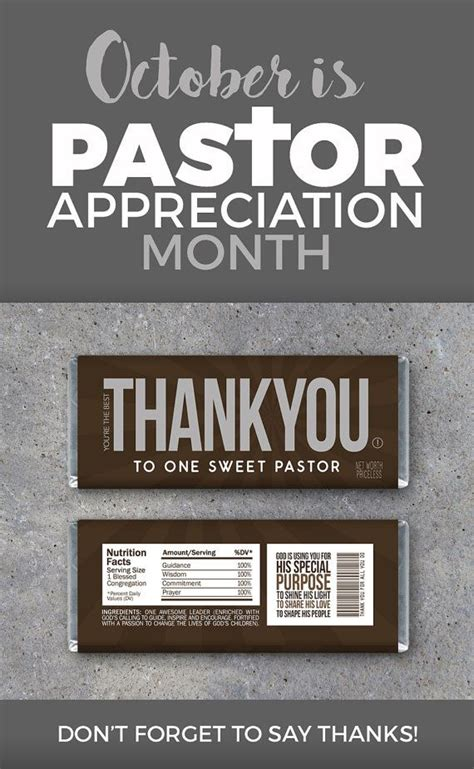 thank you letter to pastor for baptism pastor appreciation day www imgkid the image kid