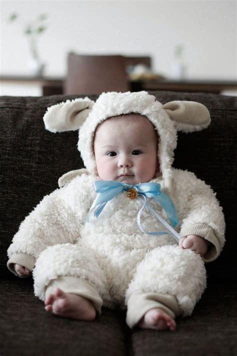 Handmade Sheep Costume - handmade baby costume for costumes for