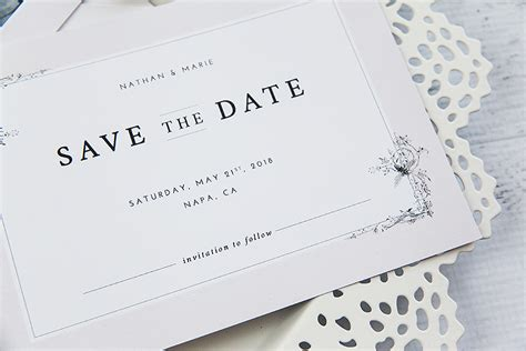 make save the date cards wedding invitation create save the date cards stack