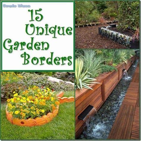 garden edging idea 15 unique garden border and edging ideas garden borders