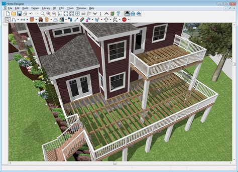 home design software overview decks and landscaping home designer architectural