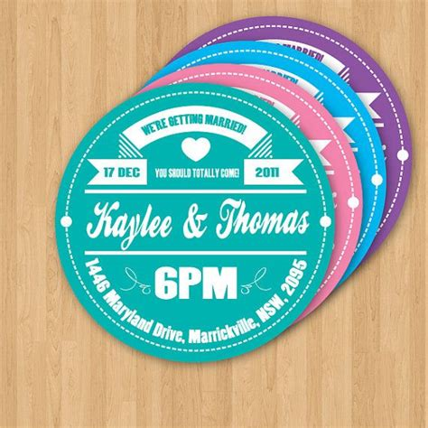 printable record labels vinyl record label wedding invitation diy set printable
