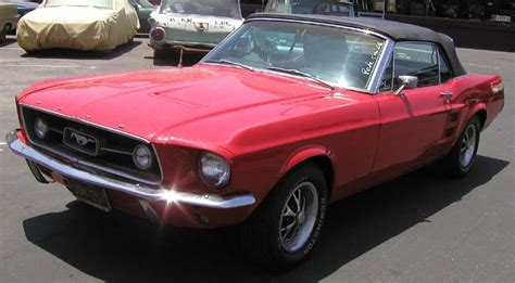 1967 Ford Mustang Gta Convertible 1 Of 559 Produced With This Paint And Trim For Sale Photos Just Mustangs
