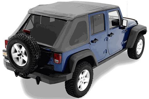 Jeep Yj Frameless Soft Top All Things Jeep Bestop Trektop Nx Frameless Soft Top For