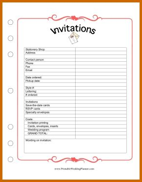 free printable planner for wedding 10 free printable wedding planner organizer lease template