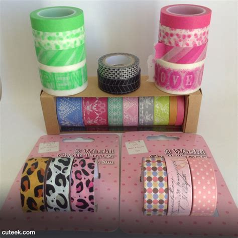 what is washi tape my washi tape collection cuteek