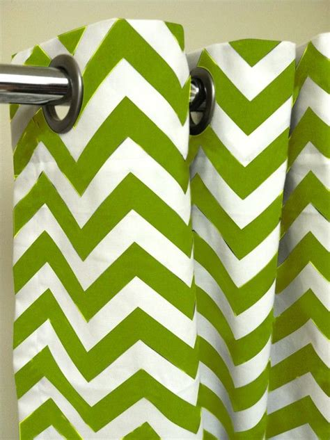 green and white chevron curtains shower stall shower curtain premier decorator zig zag