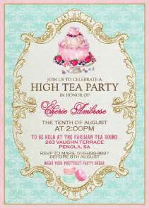 High Tea Invitation Template by High Tea Invitation Template Invitation Templates J9tztmxz