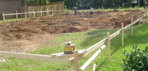 build my own home home site preparation for concrete