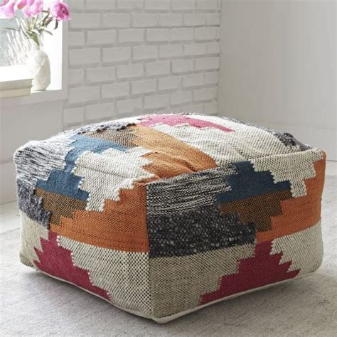 west elm floor pillow best 25 floor pouf ideas on crochet floor