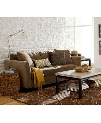elliot fabric sectional living room furniture collection macy s shop fashion clothing accessories official