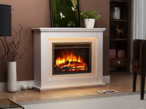 Fires And Fireplaces Endeavour Fires Castleton Electric Fireplace In A Light
