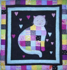 The Patchwork Cat - quilt animals on cat quilt quilt and cats