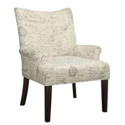 pattern accent chair script pattern accent chair coaster furniture