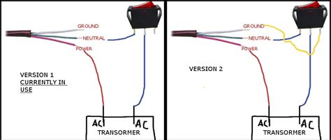 spdt switch wiring confusion