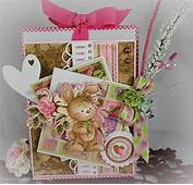 Whimsy And Wee Altered Bag By Handmadebytlc  Cards