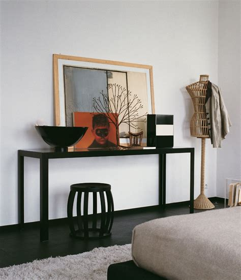 bedroom console table black console table interior design ideas