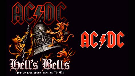 ac dc hells bells hq youtube
