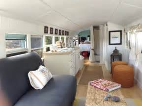 Homes For Sale With Open Floor Plans couple convert 1993 school bus into tiny home